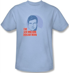 Image Closeup for Six Million Dollar Man I See You T-Shirt