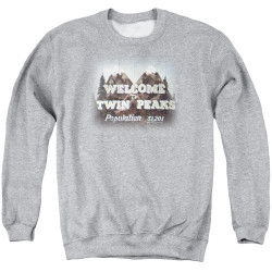 Image for Twin Peaks Crewneck - Welcome to Twin Peaks