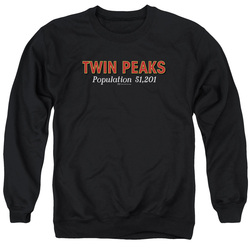 Image for Twin Peaks Crewneck - Population 51,201