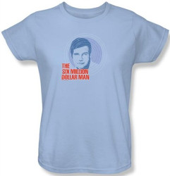 Image for Six Million Dollar Man I See You Woman's T-Shirt