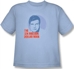 Image for Six Million Dollar Man I See You Youth T-Shirt
