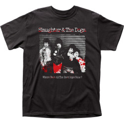 Image for Slaughter and the Dogs Boot Boys T-Shirt