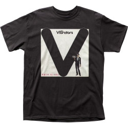 Image for The Vibrators Pure Mania T-Shirt
