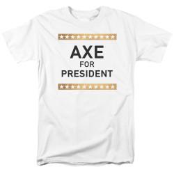 Image for Billions T-Shirt - Axe for President