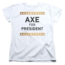 Image for Billions Womans T-Shirt - Axe for President