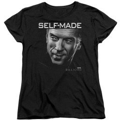 Image for Billions Womans T-Shirt - Self Made