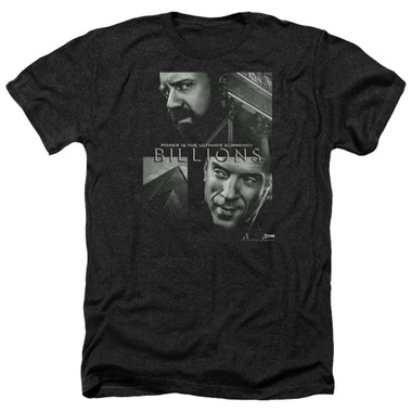 Image for Billions Heather T-Shirt - Currency Poster