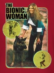Image for The Bionic Woman Jamie and Max T-Shirt