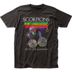 Image for Scorpions Fly to the Rainblow T-Shirt