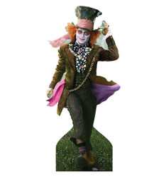 Image for Alice in Wonderland Lifesize Standup - Mad Hatter Johnny Depp