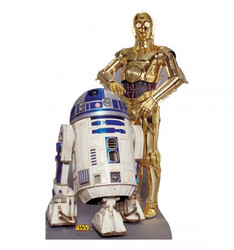 Image for Star Wars Lifesize Standup - R2-D2 & C-3PO