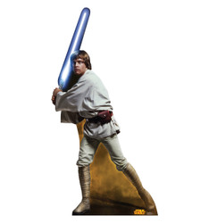 Image for Star Wars Lifesize Standup - Luke Skywalker Classics