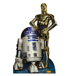 Image for Star Wars Lifesize Standup - R2D2 & C3PO Classic