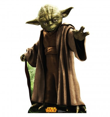 Image for Star Wars Lifesize Standup - Yoda Classic