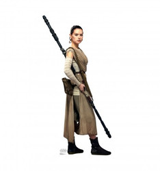 Image for Star Wars Lifesize Standup - Rey the Force Awakens