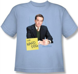 Image for The Office the Nard Dog Youth T-Shirt