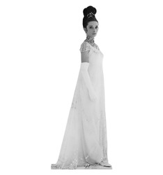 Image for Audrey Hepburn Lifesize Standup - My Fair Lady Side Shot