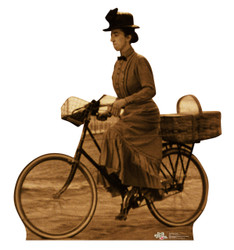 Image for The Wizard of Oz Lifesize Standup - Miss Gulch on Bike