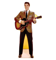 Image for Elvis Presley Lifesize Standup - Sportscoat Guitar