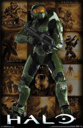 Image for Halo Grid Poster