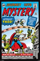 Image for Thor Poster - Journey to Mystery