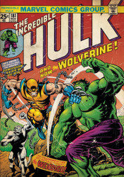 Image for The Hulk vs Wolverine Poster