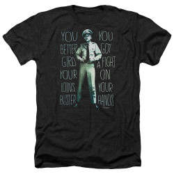 Image for Andy Griffith Show Heather T-Shirt - Fight