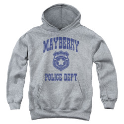 Image for Andy Griffith Show Youth Hoodie - Mayberry Police