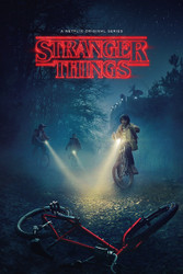 Image for Stranger Things Bikes Poster
