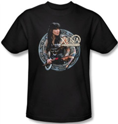 Image Closeup for Xena Warrior Princess the Warrior T-Shirt