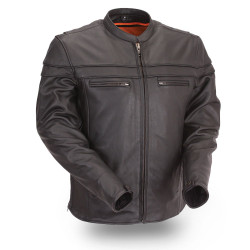 Front image for Maverick Leather Jacket