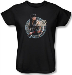 Image for Xena Warrior Princess the Warrior Woman's T-Shirt