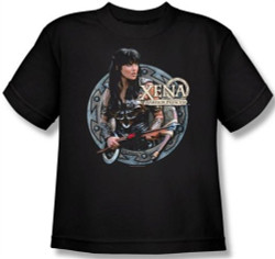 Image for Xena Warrior Princess the Warrior Youth T-Shirt