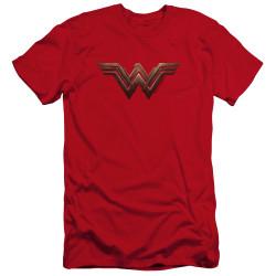 Image for Wonder Woman Movie Premium Canvas Premium Shirt - Wonder Woman Logo