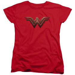 Image for Wonder Woman Movie Womans T-Shirt - Wonder Woman Logo