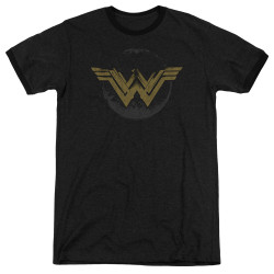 Image for Wonder Woman Movie Ringer - Distressed Logo