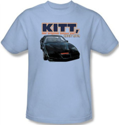 Image Closeup for Knight Rider KITT, the Original Smart Car T-Shirt