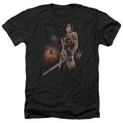 Image for Wonder Woman Movie Heather T-Shirt - Fierce