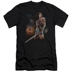 Image for Wonder Woman Movie Premium Canvas Premium Shirt - Fierce