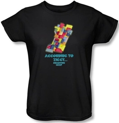 Image for Quantum Leap According to Ziggy... Woman's T-Shirt