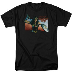 Image for Wonder Woman Movie T-Shirt - Warrior Woman