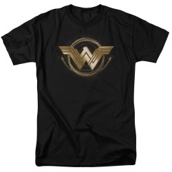 Image for Wonder Woman Movie T-Shirt - Lasso Logo
