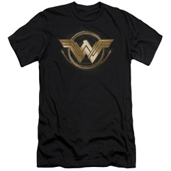 Image for Wonder Woman Movie Premium Canvas Premium Shirt - Lasso Logo