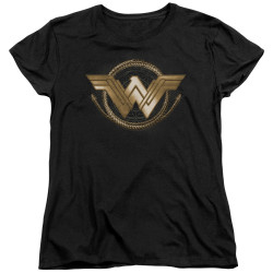 Image for Wonder Woman Movie Womans T-Shirt - Lasso Logo