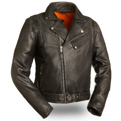 Image for 60's New Yorker M/C Leather Jacket