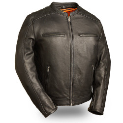 Image for The High Roller M/C Leather Jacket