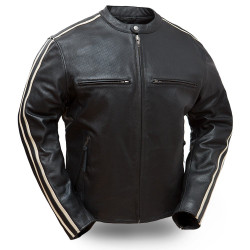 Image for Fast Fury M/C Leather Jacket