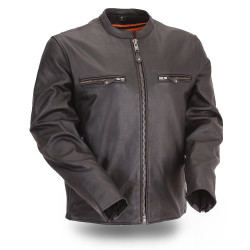 Image for The Promoter Scooter Leather Jacket