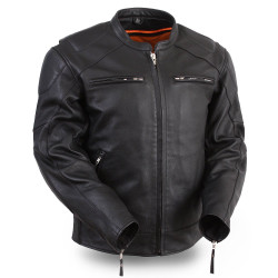 Image for Speed Demon Scooter Leather Jacket