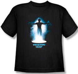 Image for Quantum Leap First Jump Youth T-Shirt